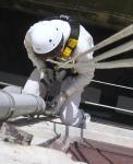 Lavori in altezza su corda e potatura